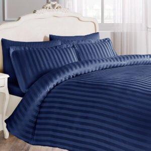 купить Постельное белье TIVOLYO HOME NEW JACQUARD LACI Синий фото