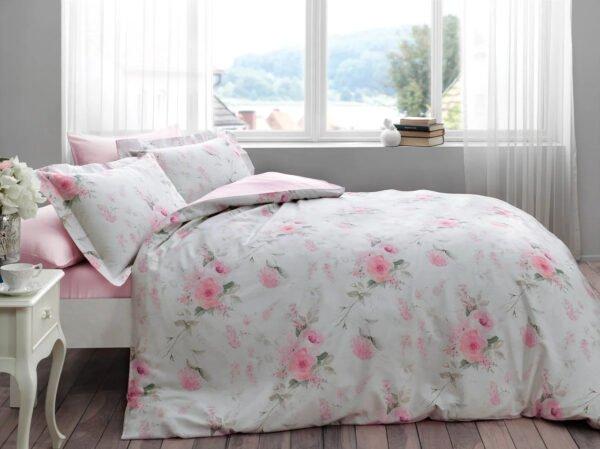 купить Постельное белье Tivolyo Home CHERISH Розовый фото