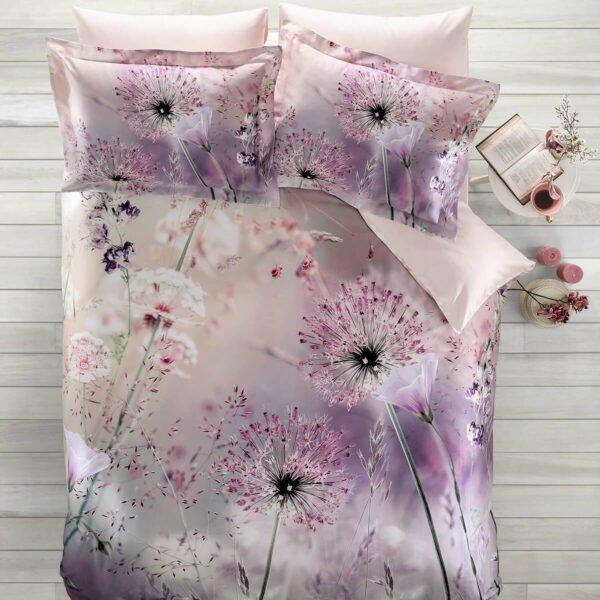 купить Постельное белье Tivolyo Home DANDELION Розовый фото