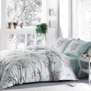 купить Постельное белье Tivolyo Home ROSE HILL Зеленый фото