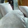 купить Постельное белье cатин делюкс с вышивкой Dantela Vita Hanzade Розовый фото 92302