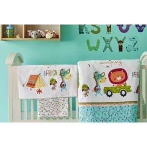 купить Постельное белье для младенцев Karaca Home - Camping turkuaz Бирюзовый фото