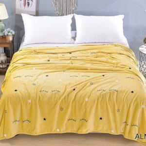 купить Плед-Покрывало TAG велсофт микрофибра ALM1919 Желтый фото