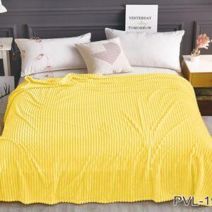 купить Плед-Покрывало TAG велсофт микрофибра ALM1928 Желтый фото