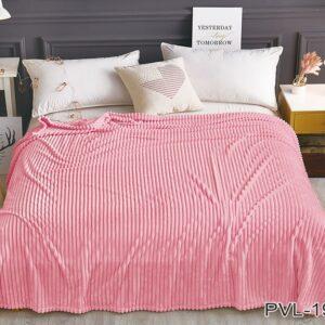 купить Плед-Покрывало TAG велсофт микрофибра ALM1930 Розовый фото