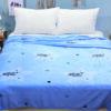 купить Плед-Покрывало TAG велсофт микрофибра ALM1903 Голубой фото