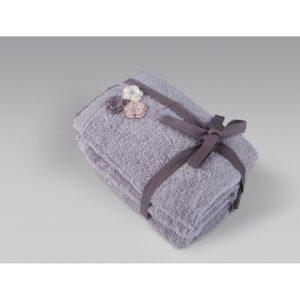 купить Набор полотенец Irya - Carle lila 3шт Лиловый фото