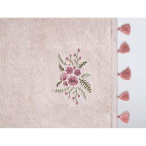 купить Набор полотенец Irya - Elia pudra 3шт Розовый фото