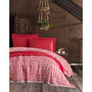 купить Покрывало Eponj Home Naturel - Porto kirmizi Красный фото