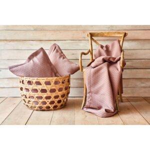 купить Покрывало с наволочками Karaca Home - Charm bold a.murdum Фиолетовый фото