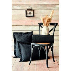 купить Покрывало с наволочками Karaca Home - Charm bold siyah Черный фото