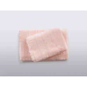 купить Полотенце Irya - Apex somon Розовый фото