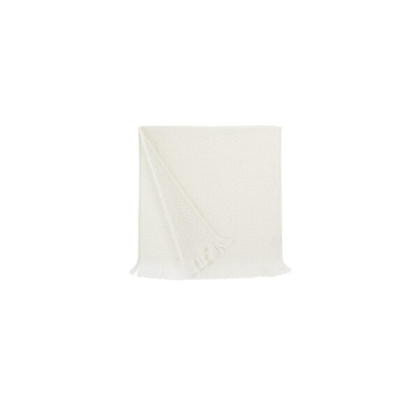 купить Полотенце махровое Buldans - Athena off white Белый фото