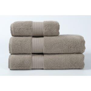 купить Полотенце махровое Penelope - Kongo warm grey Серый фото