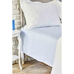 купить Простынь Karaca Home ранфорс - Dreamy mavi Голубой фото