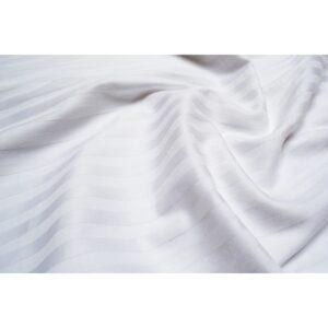 купить Простынь Lotus Отель - Сатин Страйп белый на резинке Белый фото