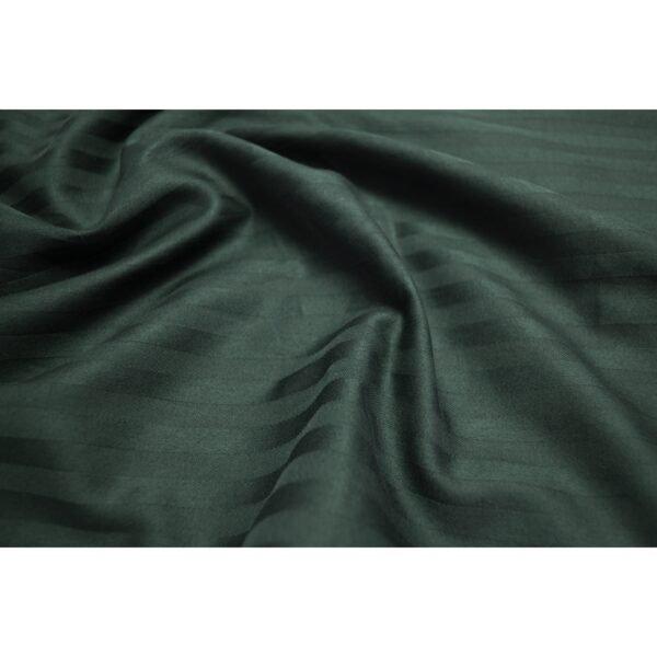 купить Простынь Lotus Отель - Сатин Страйп изумруд Зелёный фото