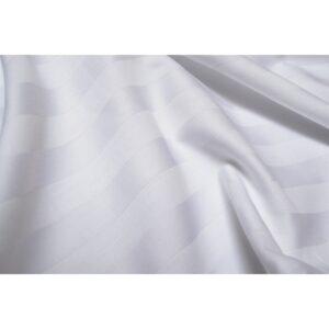 купить Простынь Lotus Отель - Сатин Страйп 2*2 белый Белый фото