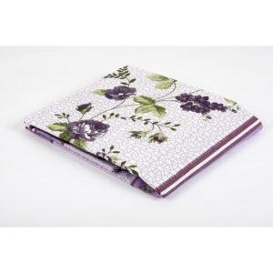 купить Простынь Lotus ранфорс - Delmare Фиолетовый фото