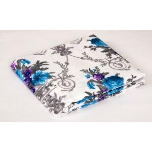 купить Простынь Lotus ранфорс - Loise Синий фото