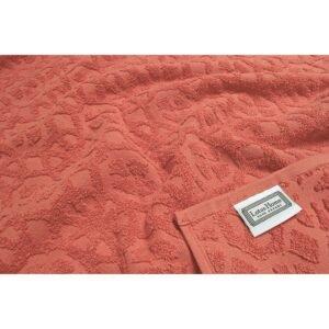 купить Простынь махровая Lotus - Deco коралл Красный фото