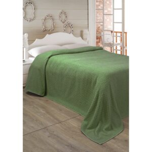 купить Простынь махровая Lotus - Point травяной Зелёный фото