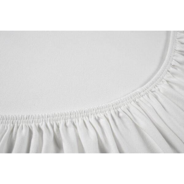 купить Простынь на резинке Othello - Cottonflex белый Белый фото
