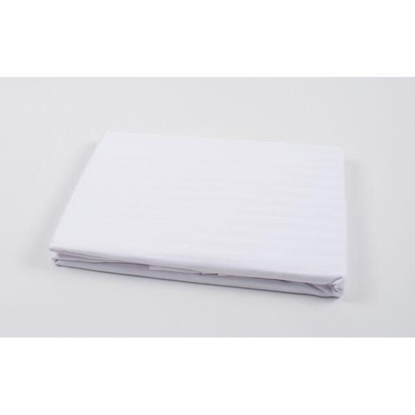 купить Простынь Oliva Home - Сатин страйп 1*1 Белый фото