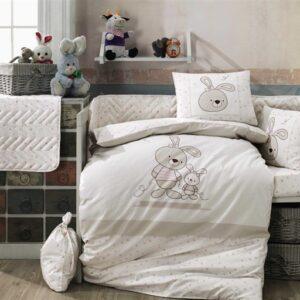 купить Постельное белье для новорожденных HOBBY Elina Бежевый фото
