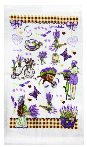 купить Кухонное полотенце Лаванда Фиолетовый фото 2