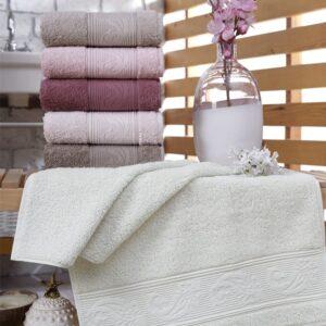 купить Набор махровых полотенец Sikel Cotton Ribella (6 шт)  фото