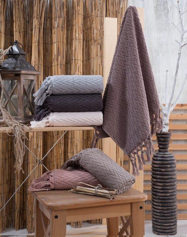 купить Набор махровых полотенец Sikel жаккард Kapadokya (6 шт)  фото
