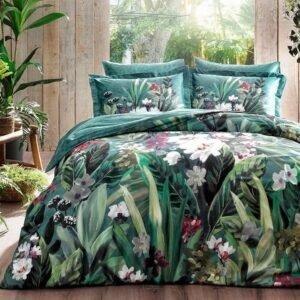 купить Постельное белье TAC Bamboo Valencia V01 yesil Зеленый фото
