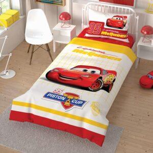 купить Подростковое постельное белье TAC Disney Cars Cek Красный фото