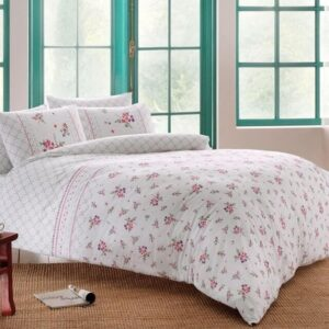купить Постельное белье TAC ранфорс Sasha V02 lila Розовый фото