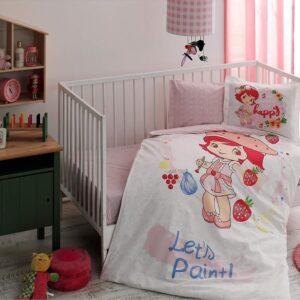купить Постельное белье для новорожденных TAC Disney S. Shortcake Paint Baby Розовый фото