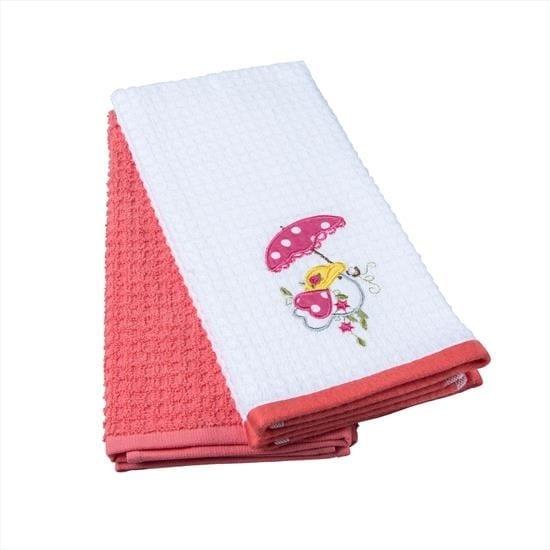 купить Набор кухонных полотенец TAC Red Chick (2 шт)  фото
