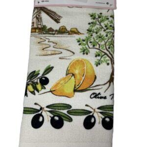 купить Набор кухонных полотенец TAC Olives (2 шт)  фото