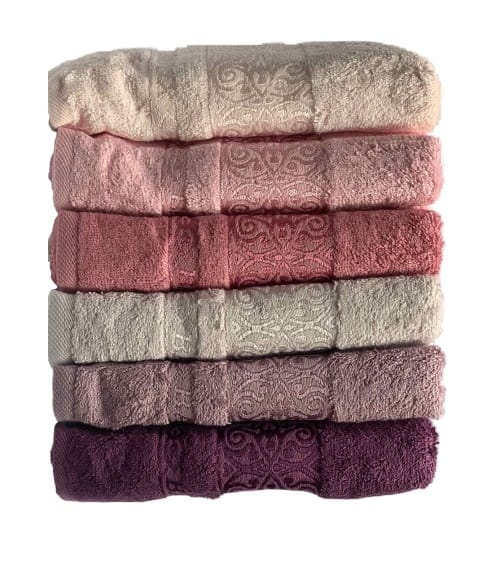 купить Набор махровых полотенец Miss Cotton Bamboo Sarmasik (6 шт.)  фото