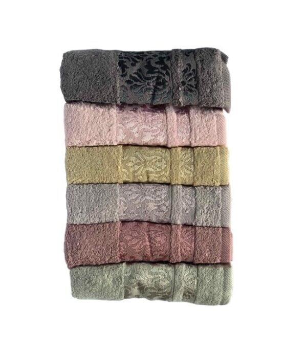 купить Набор махровых полотенец Miss Cotton Lale (6 шт.)  фото