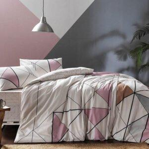 купить Постельное белье TAC ранфорс Marvel V01 Розовый фото