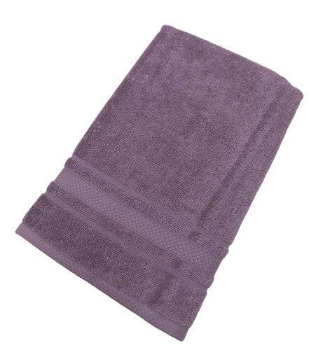 купить Махровое полотенце TAC Softness фиолетовый Фиолетовый фото