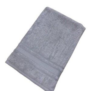 купить Махровое полотенце TAC Softness серый Серый фото