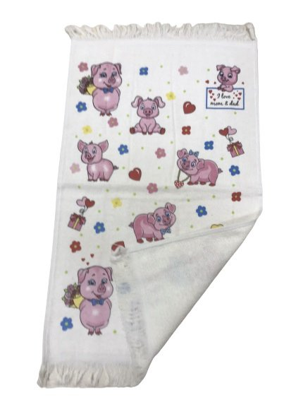купить Кухонное полотенце Melih Свинки Розовый фото