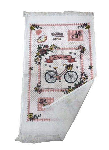 купить Кухонное полотенце Melih Велосипед Розовый фото