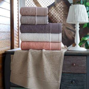 купить Набор махровых полотенец Sikel жаккард Harosa (6 шт)  фото