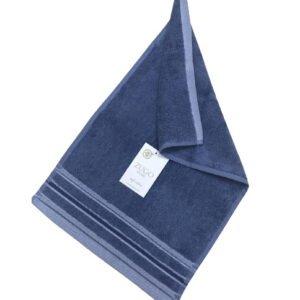 купить Махровое полотенце Zugo Home Long Twist Erkek антрацит Синий фото