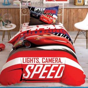 купить Подростковое постельное белье TAC Disney Cars Spectator Красный фото