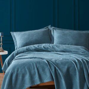 купить Покрывало Diva Blue Синий фото