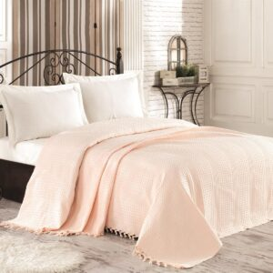 купить Покрывало Diva Almond Розовый фото